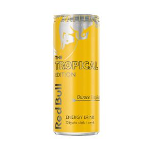 RED BULL PUSZKA THE TROPICAL EDITION 0,25L
