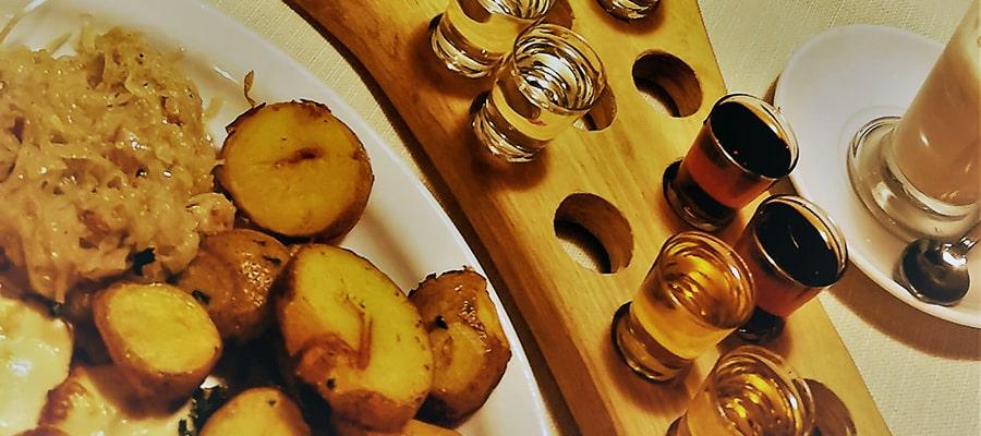 Degustacja wódek i likierów kurnwica