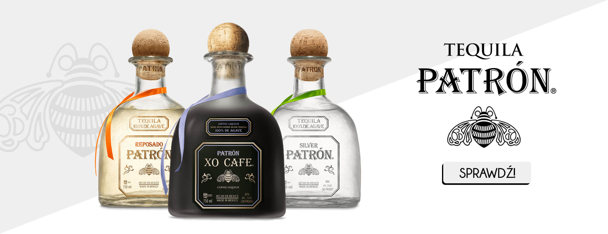 Banner patron tequila