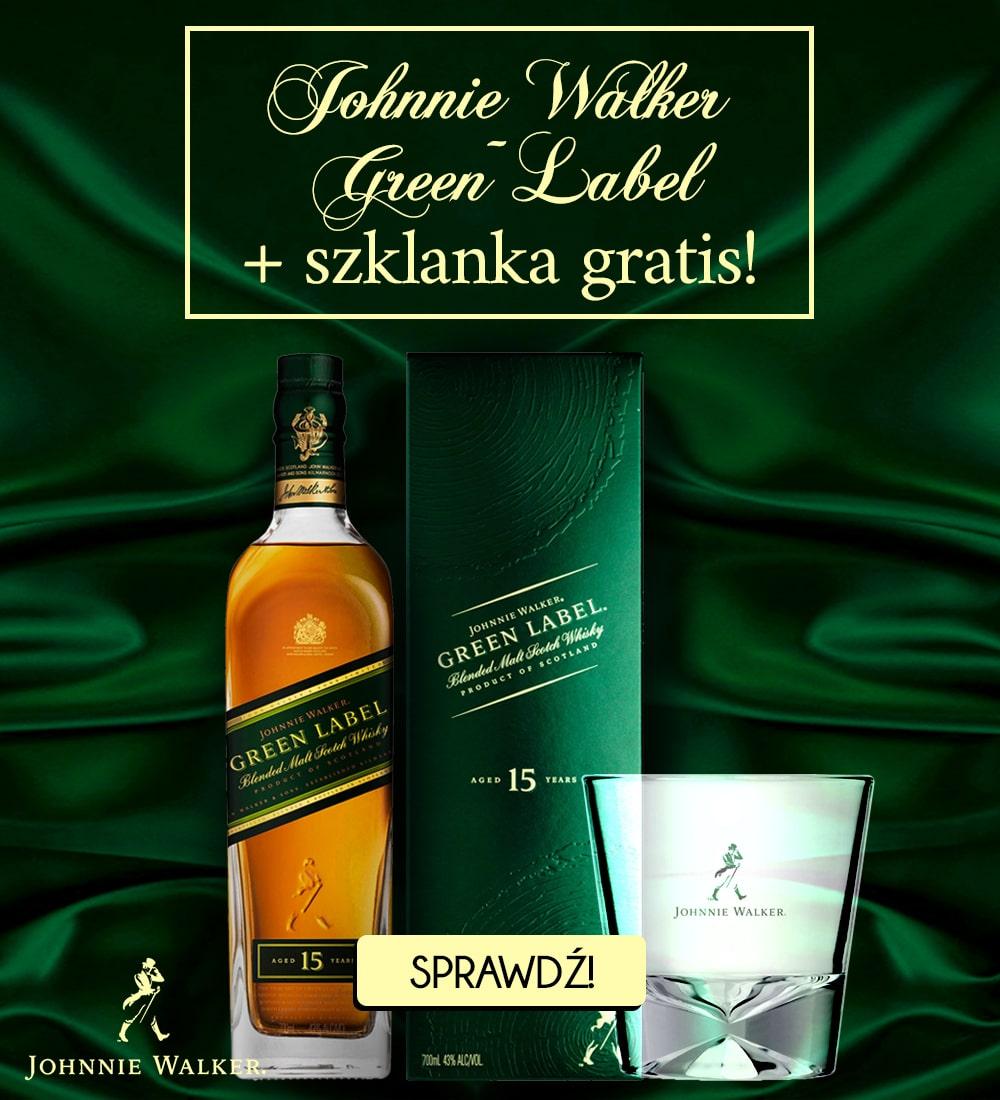 banner green label mobile